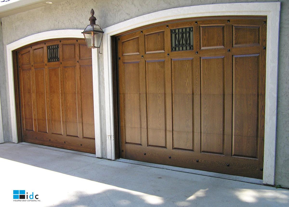 Oak doors garage doors oak Sutherland garage